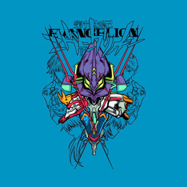 Rebuild for N.G.Evangelion Color Tshirts