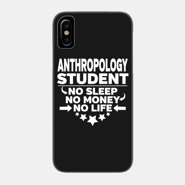 Anthropology College Student Majors Degree Phone Case