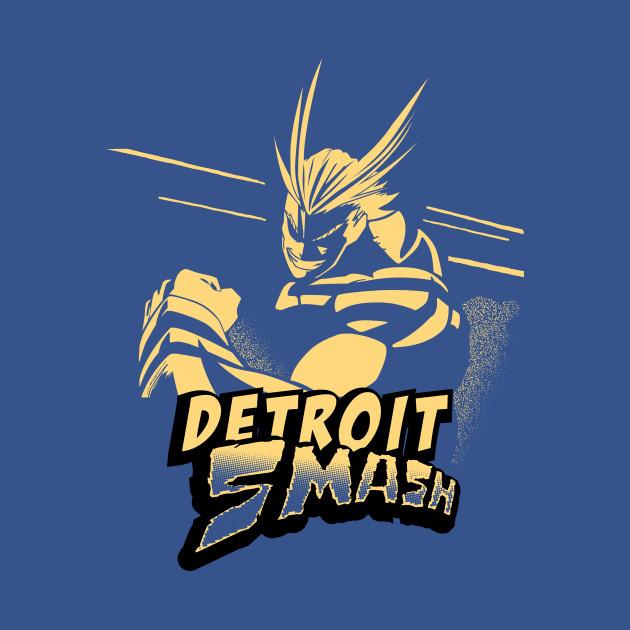 All Might Detroit Smash