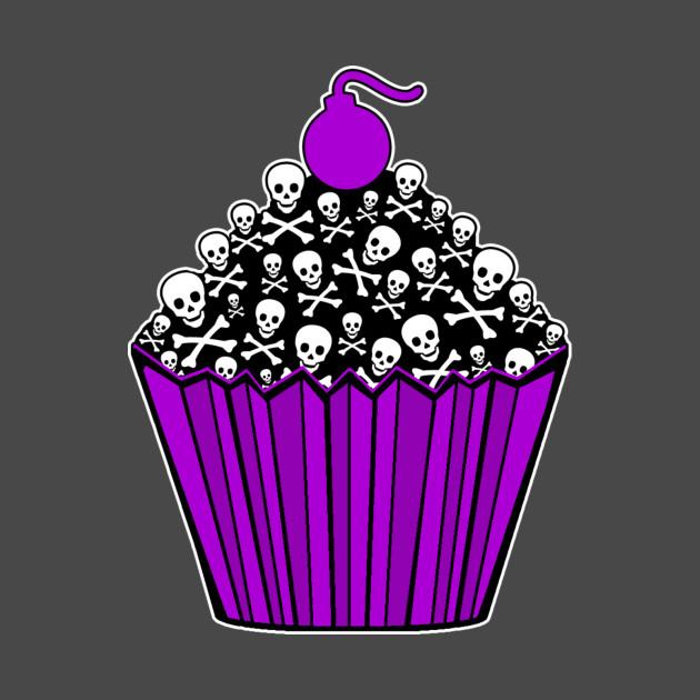 Skull Cupcake
