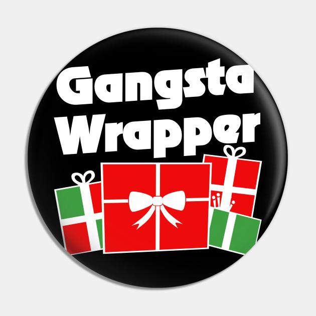 Gangsta Wrapper Christmas humor
