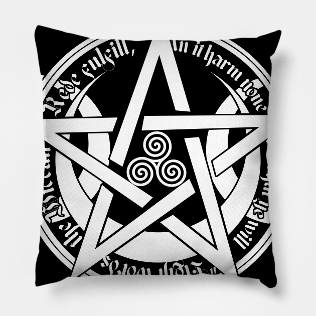 Wiccan symbol of magic and the elements