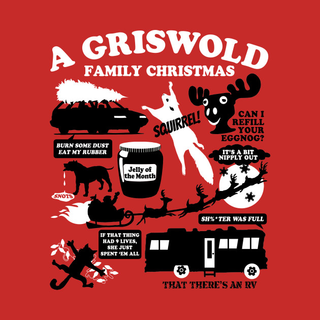 A Griswold Family Christmas T-Shirt - Movie - Kids T-Shirt | TeePublic