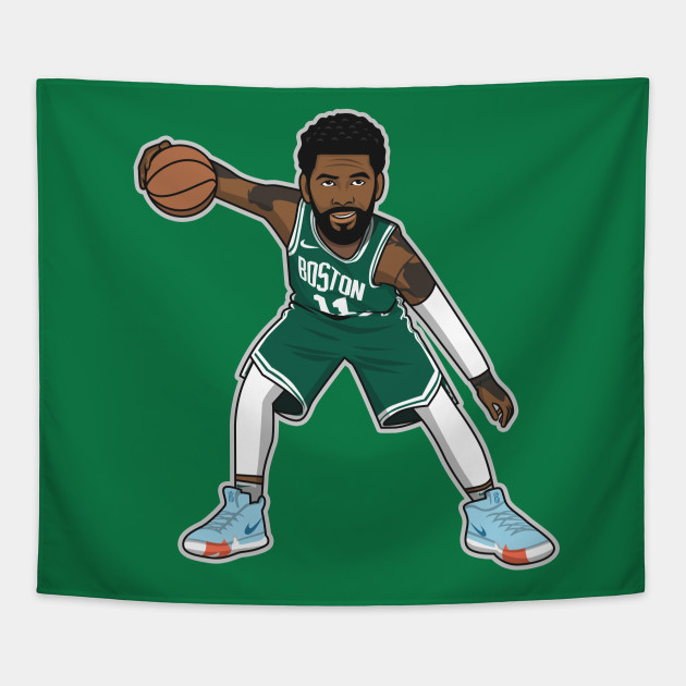 7090b1e8777f Kyrie Irving Cartoon Style by rayd3rd - Kyrie Irving - Tapestry ...
