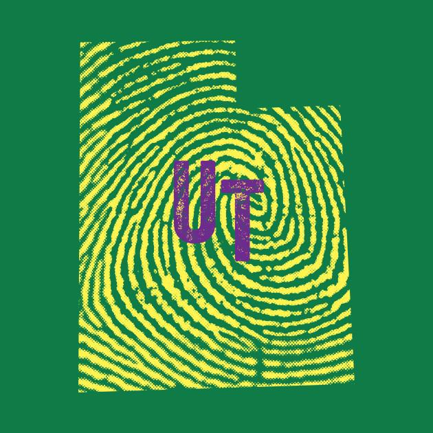 Home State Fingerprint  - Utah