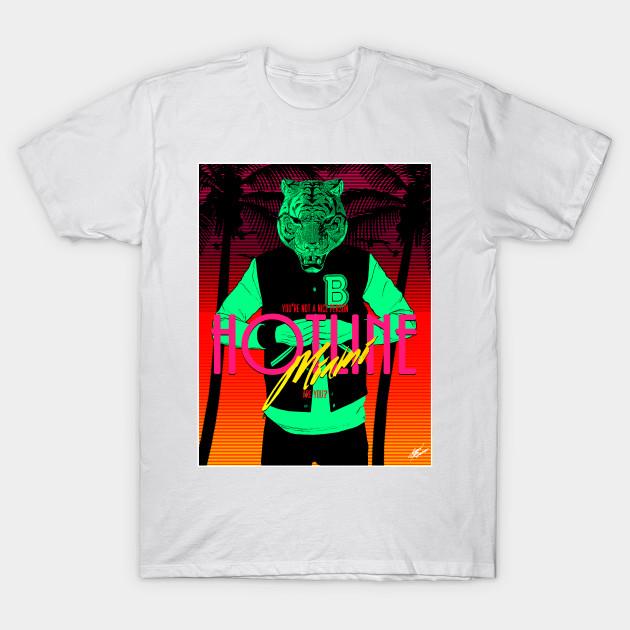 a5cf62e46 Hotline Miami Tony's T-Shirt - Hotline Miami - T-Shirt   TeePublic