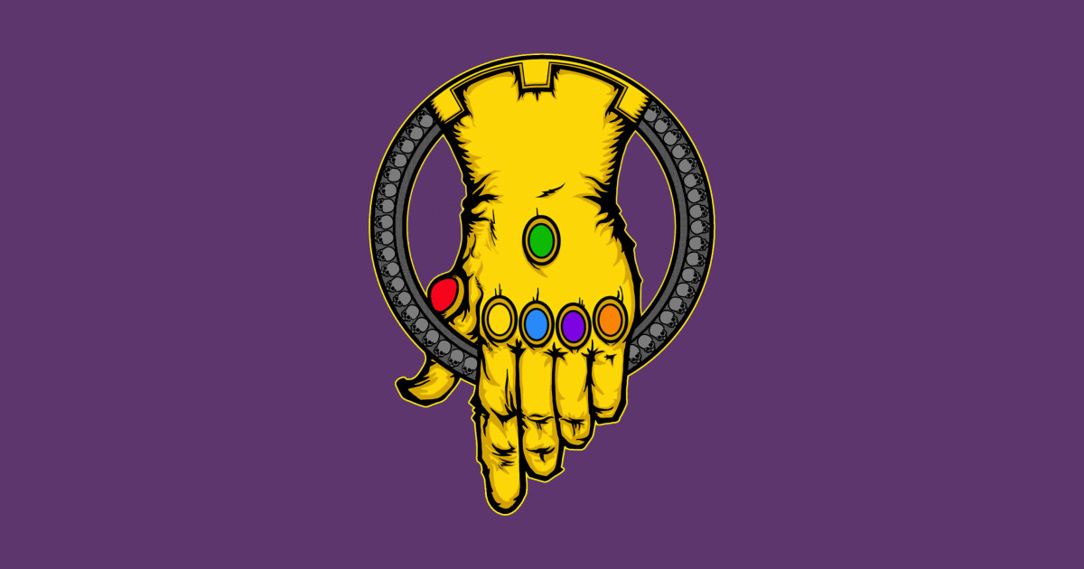 Infinity Gauntlet Pin Infinity War Sticker Teepublic
