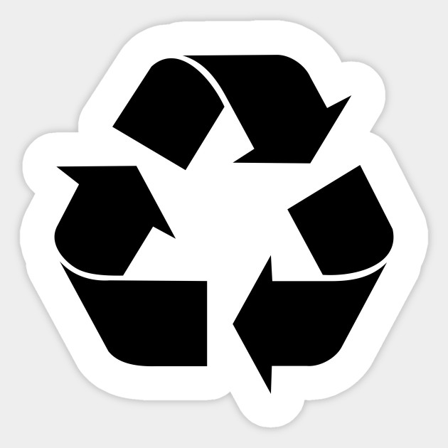 Limited Edition Exclusive Recycling Symbol Recycling Symbol