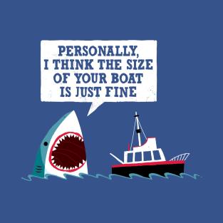 Polite Jaws t-shirts