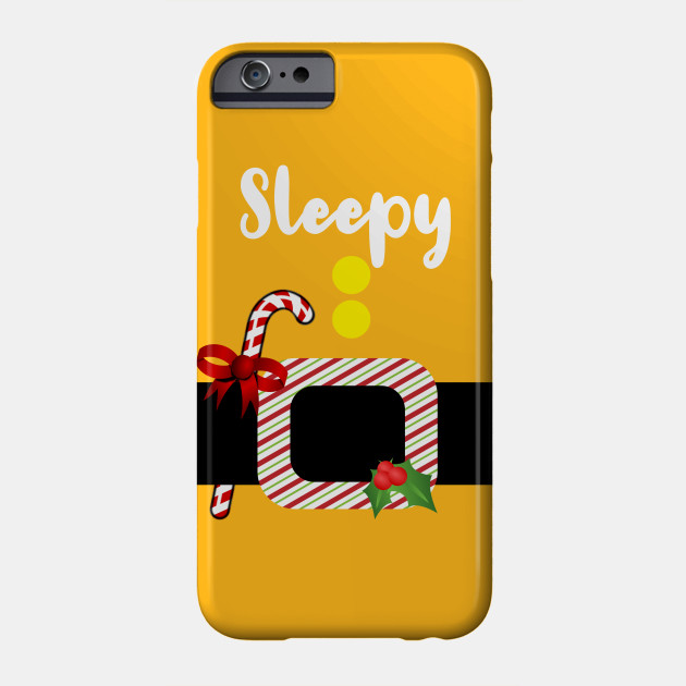 Sleepy Dwarf Christmas Xmas New Year Costume Halloween Phone Case
