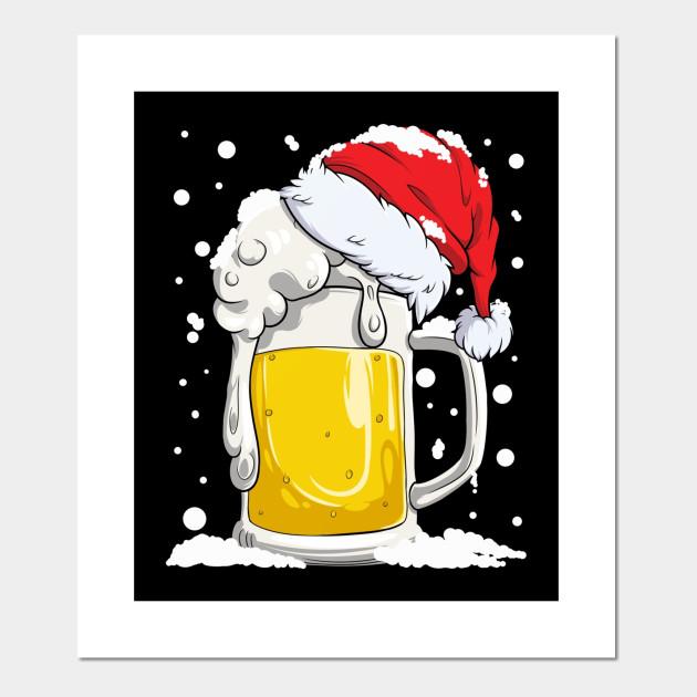 Beer Christmas Gifts.Beer Christmas Shirt Mug Santa Xmas Lights Men Women Gifts