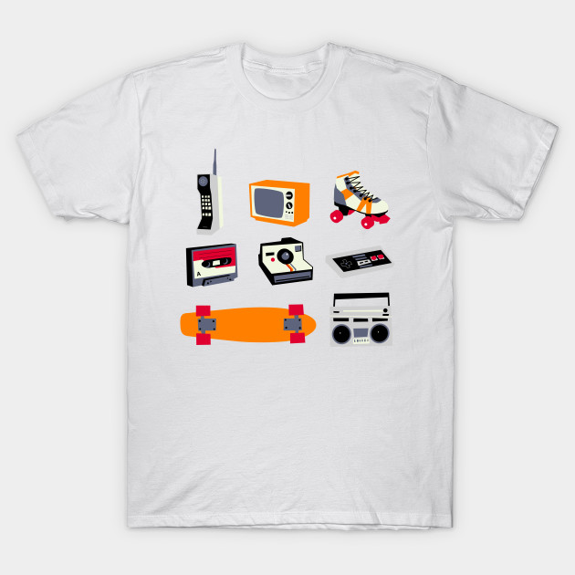 80s items T-Shirt-TOZ
