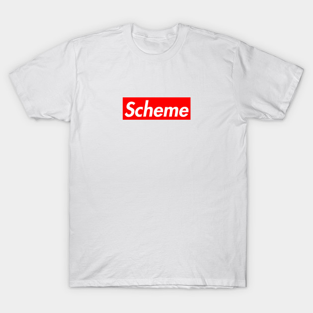 Supreme  Scheme (red   white) - Supreme - T-Shirt  2a92c82a6