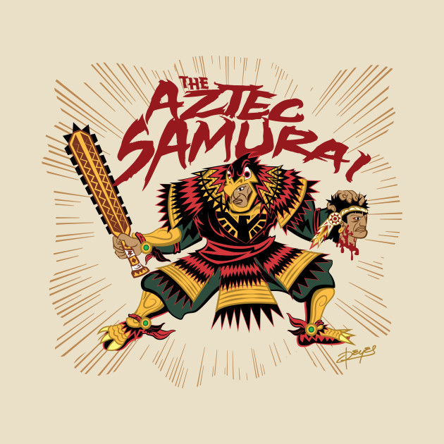 Eagle Warrior Aztec Samurai