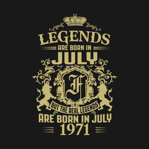 Kings Legends Are Born In July 1971