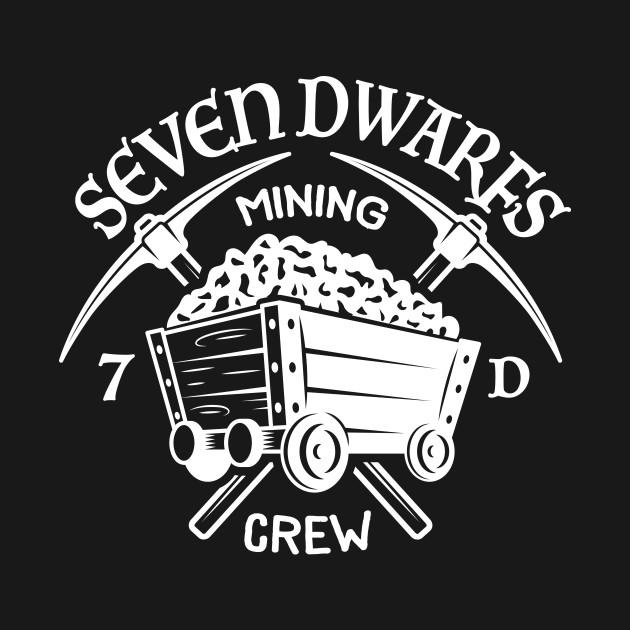 Seven Dwarfs Mining Crew - Dark