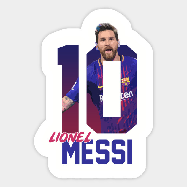 Lionel Messi Barça - Lionel Messi Barca - Sticker