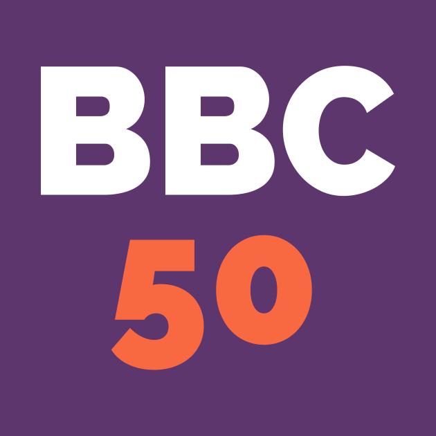 BBC 50 - Bat Boys Comedy 50th Episode Logo