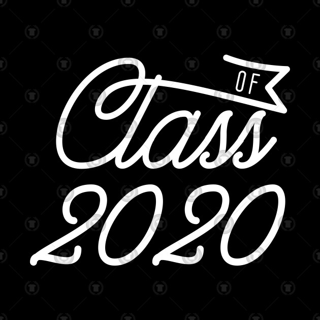 Graduation Day 2020.Class Of 2020 Typographic Design For Graduating Seniors And Juniors Graduation Day Gift