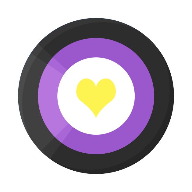 Pride Shield - Enby Flag