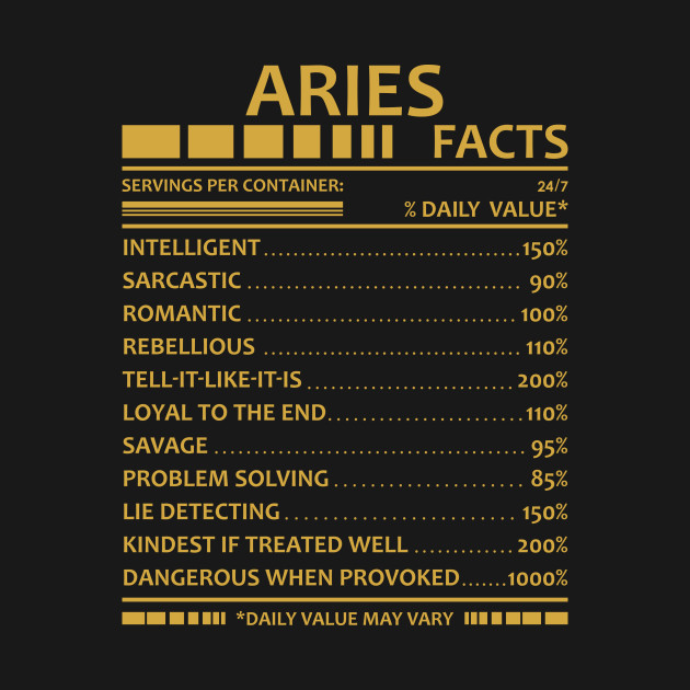 Aries On the dark side...