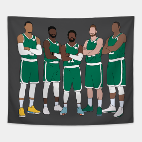 check out cd4b3 f1463 Boston Celtics Tapestries   TeePublic