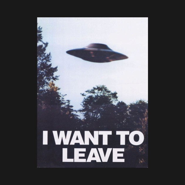 I WANT TO LEAVE