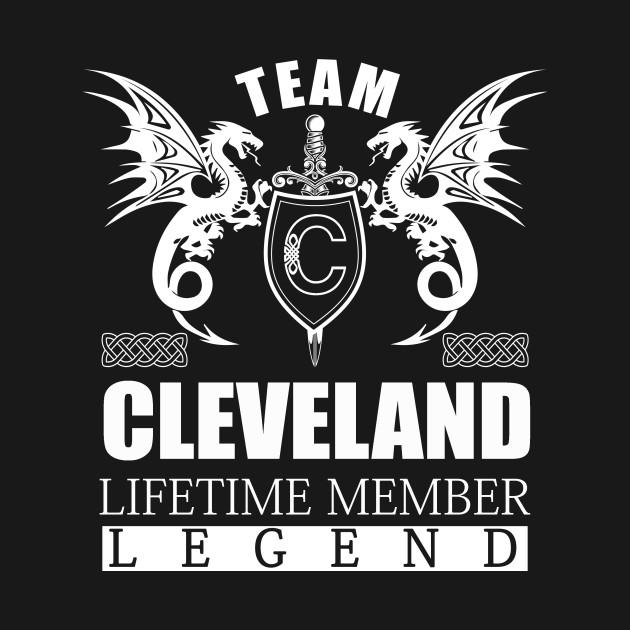 Team CLEVELAND Lifetime Member Legend