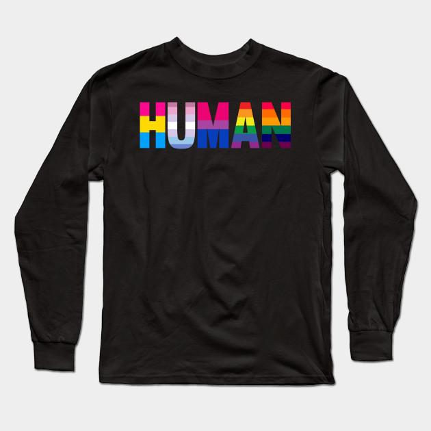 LGBTQ Pride Gay Rainbow GIFT Gay Pride Shirt Equal Rights Shirt Human Rainbow Flag T-Shirt Support Gay Rights Shirt LGBTQ+ Gift