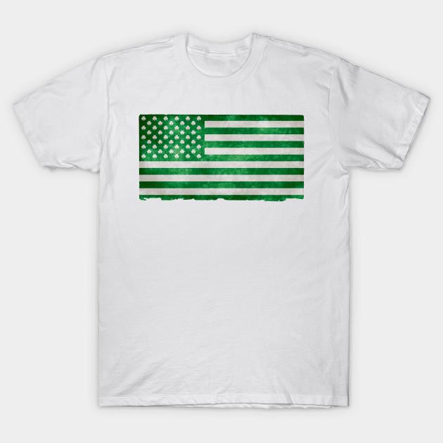 02e979cf Irish American Green Flag | St. Patrick's Day Shamrock Beer - Irish ...