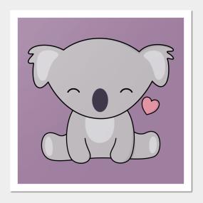 Chibi Koala Posters And Art Prints Teepublic
