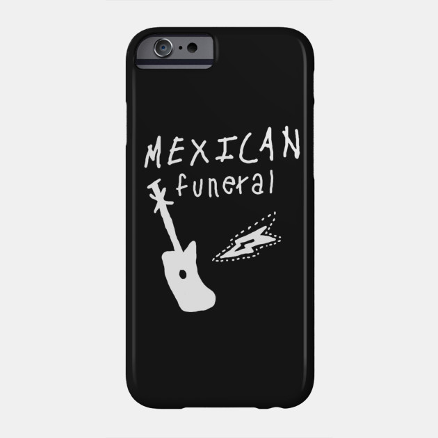 Dirk Gently mexican funeral band design