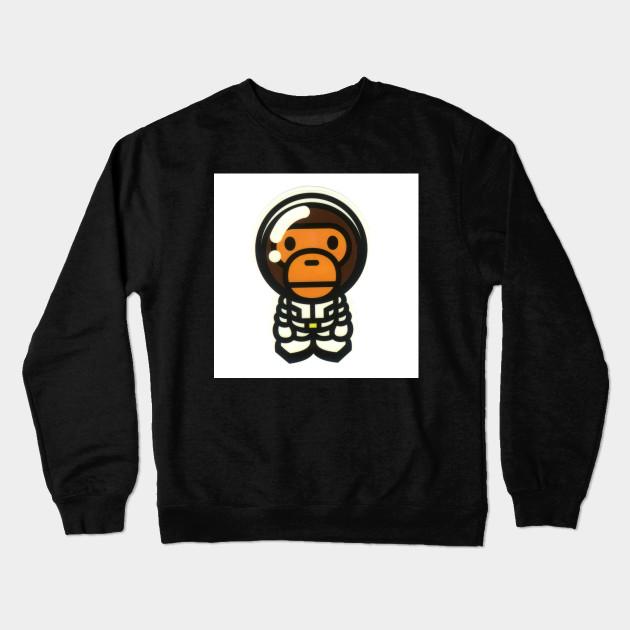 85808a71295 Baby Milo Astronaut Bathing Ape Bape - Clothing Line - Sudadera ...