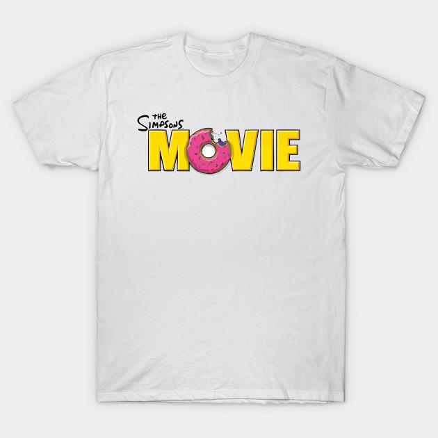 The Simpsons Movie The Simpsons Movie T Shirt Teepublic