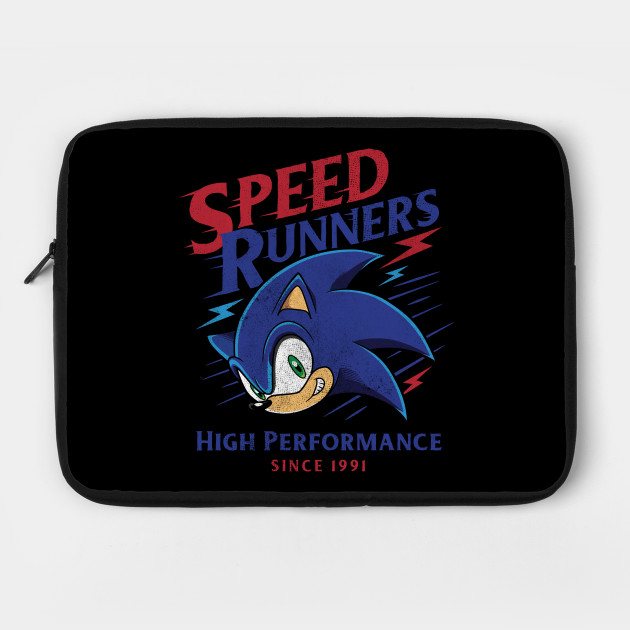 Sonic Speed Runners Vintage Style