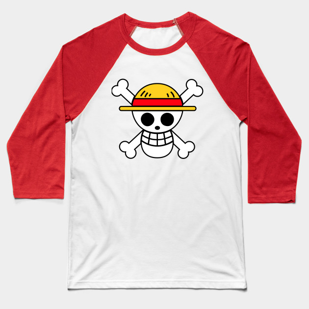 Straw Hat Pirates Symbol Baseball T Shirt Teepublic