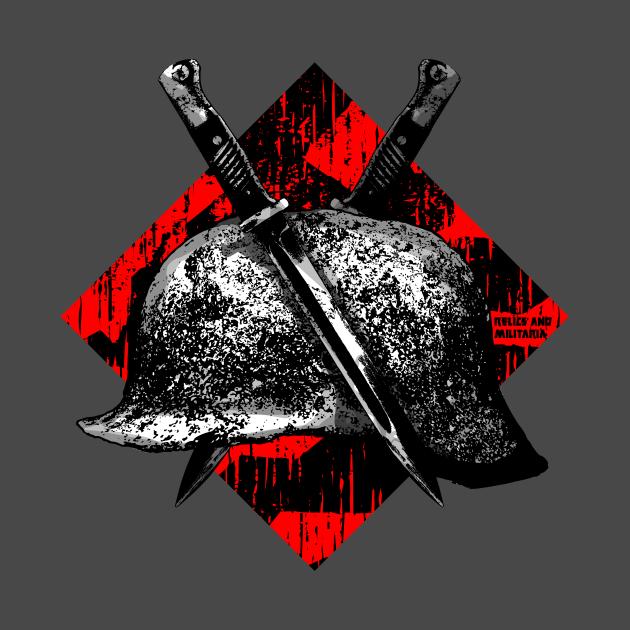 Helmet & Bayonet