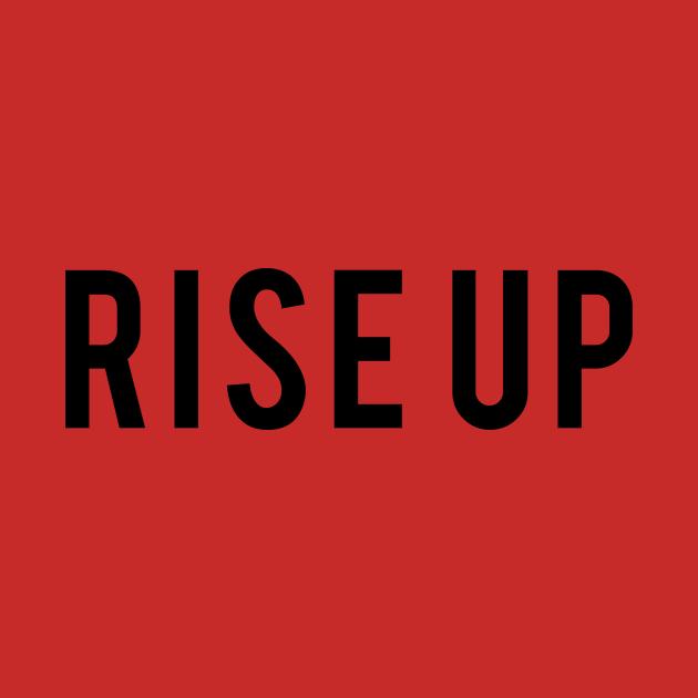 Rise Up best of Hamilton Quote Design