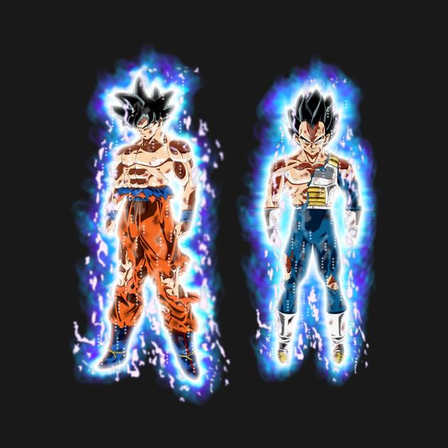 Ultra Instinct Goku and Vegeta