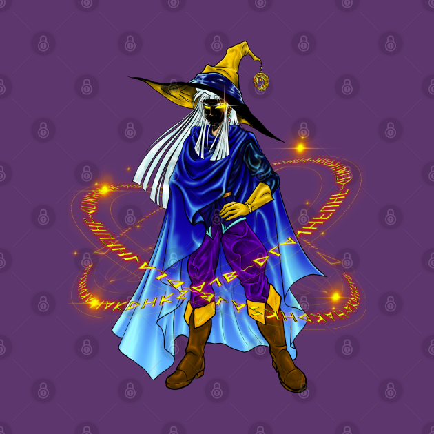 Dark Mage Hidden Face