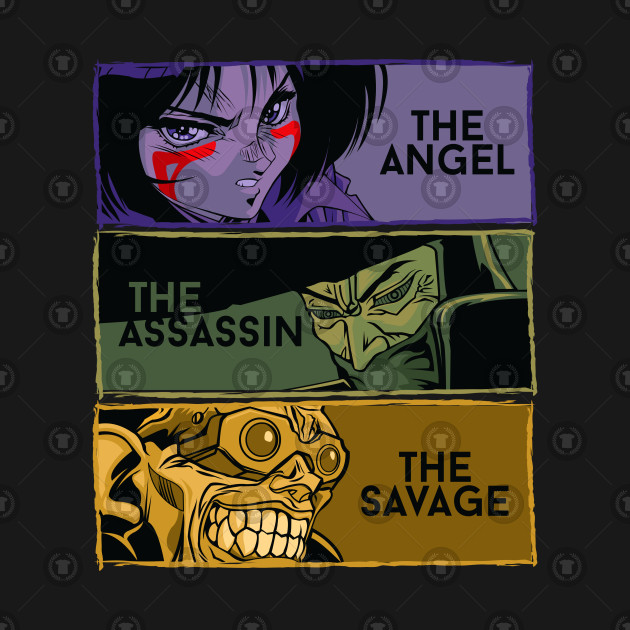 The angel, the assassin, the savage