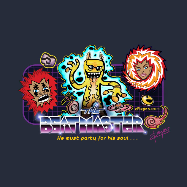 The Beatmaster Game Logo