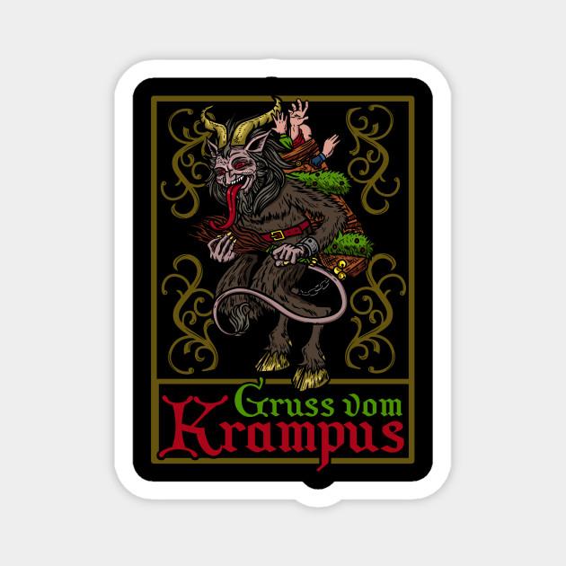 Gruss vom Krampus - Ugly Christmas Devil Gift