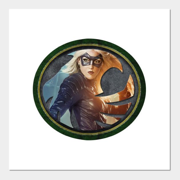 Black Canary Symbol Black Canary Posters And Art Prints Teepublic
