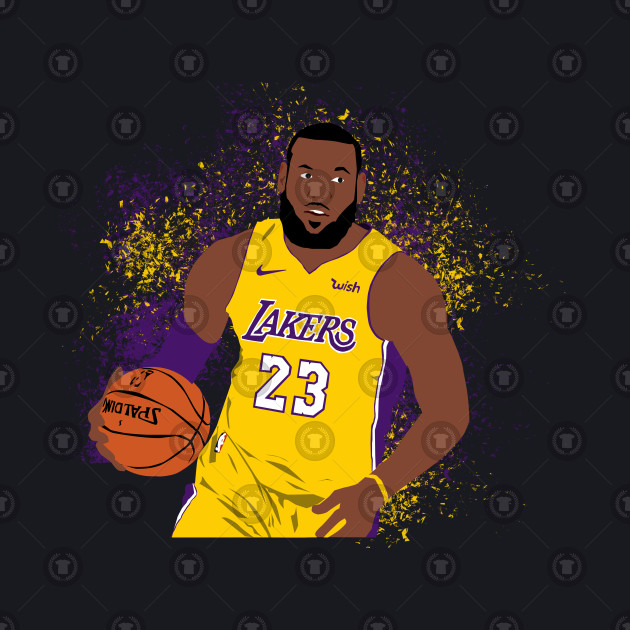 timeless design 504a8 22eb1 LeBron James Lakers