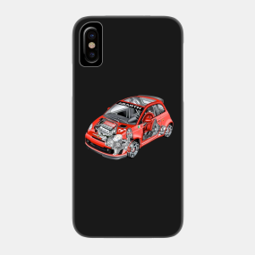 online retailer ef243 76de8 Fiat Abarth Phone Cases - iPhone and Android   TeePublic