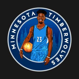 Jimmy Butler Minnesota Timberwolves Artwork t-shirts