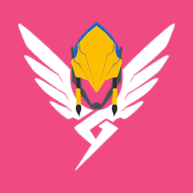 Pharah Mercy icon mashup Overwatch