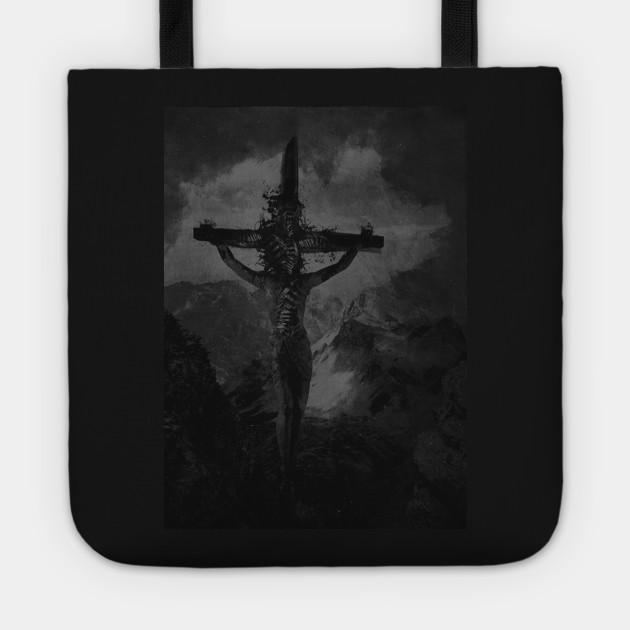 Christ on cross art