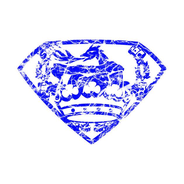 DragonMan Crest (Blue)